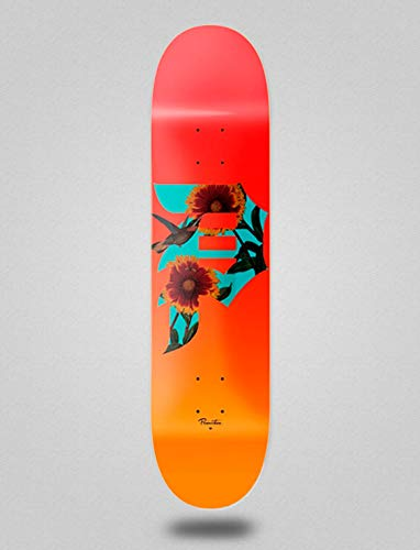 lordofbrands Primitive monopatín Skate Skateboard Deck Dirty P Sunflower 7.8