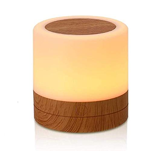 AMEXI Table lamp, Touch Sensor Bedside lamp + dimmable Warm White Light, can be Used in Children's...