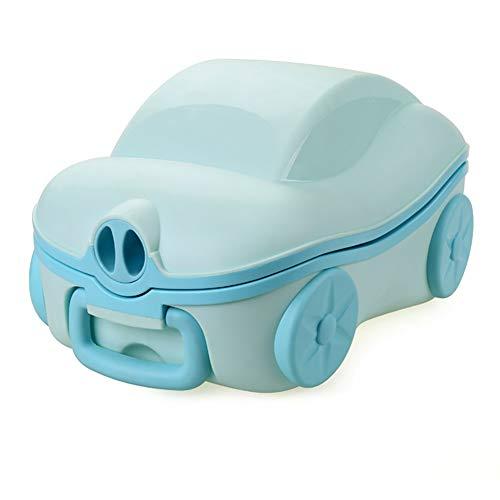 Vasino per Bambini Bimbo Toilette WC per Bambini,Materiali Ecologici Design Diviso per Una Facile Pulizia Tappetino Antiscivolo Inferiore Design delle Urine A Prova di Schizzi