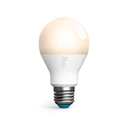 Ring A19 Smart LED Bulb, White (Ring Bridge required)