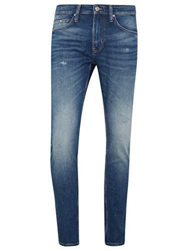Mavi Herren Jeans Skinny James Dark Amsterdam Comfort 30 32