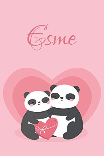 Esme: Personalized Notebook for Esme, Notebook valentine
