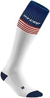 CEP Old Glory socks, white/red&blue, men