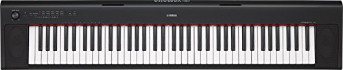 Yamaha NP32 76-Key Lightweight Portable Keyboard, Black