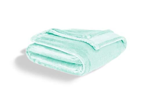 Fleecedecke King Size – Weich und Plüsch Leichtes Design – Aqua Überwurf Decke für Bett oder Sofa
