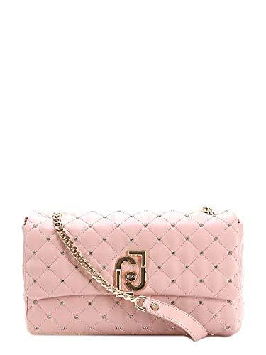 Liu Jo Luxury Fashion Donna AA0210E004141310 Rosa Borsa A Spalla |...