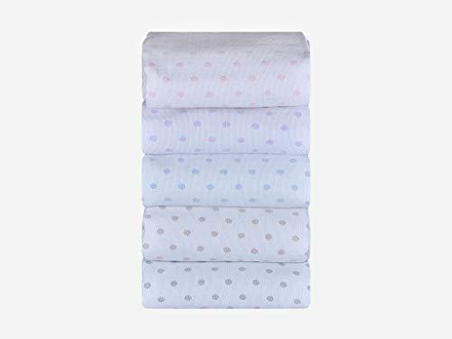 Mi Casa Mi Luna dagöverkast för säng med 90 cm, 180 x 265 cm, grå