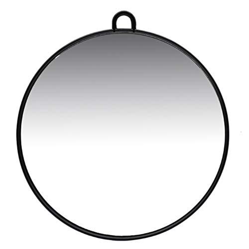 Minkissy Miroir de Maquillage Miroir à Main Miroir de Coiffeur Miroir Mural Suspendu Miroir Décoratif pour Salon Salon Chambre Dortoir
