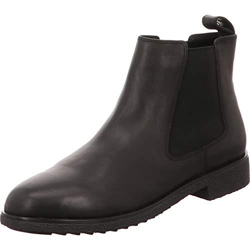 Clarks Griffin Plaza, Botas Chelsea para Mujer, Negro (Black Leather Black Leather), 38 EU