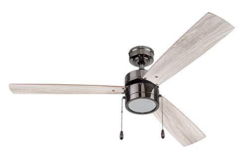 Portage Bay 51453 Madrona Ceiling Fan, 52, Gun Metal
