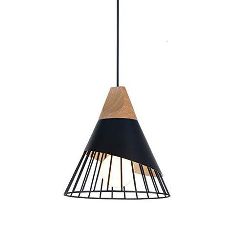 Rétro Metal Suspension Noir Cage E27 Suspension Industrielle Lampe Vintage Pendante Lumière Vintage en Métal Eclairage de Plafond Lustre Rétro Plafonnier,Métal Retro Antique Suspensions Luminaire