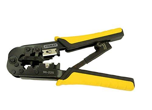 STANLEY Alicate Automático Ajustável Desencapador e Crimpador de Fios 3 em 1 96225