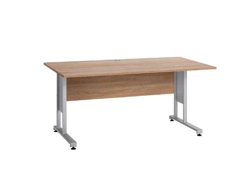 MAJA-Möbel 1220 8825 Schreibtisch, Sonoma-Eiche-Nachbildung, Abmessungen BxHxT: 160 x 75 x 80 cm