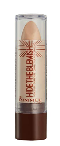 Rimmel London Correttore Hide The Blemish, Stick Copri Occhiaie, Rossori e Imperfezioni, 105 Golden Beige, 4.5 g