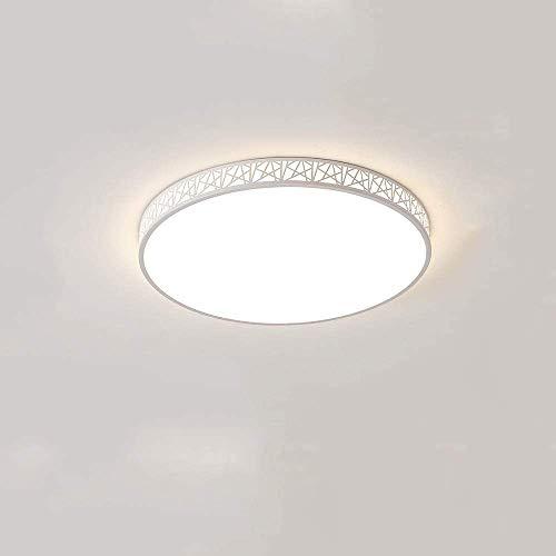 GUOGUOSM Lámpara De Techo Ultrafina Para Sala De Estar, Luz De Techo LED De Montaje Empotrado FixturSimple, Moderna, Creativa, Cálida, Luz De Techo Para Habitación De Dormitorio, Atenuación De Tres Co