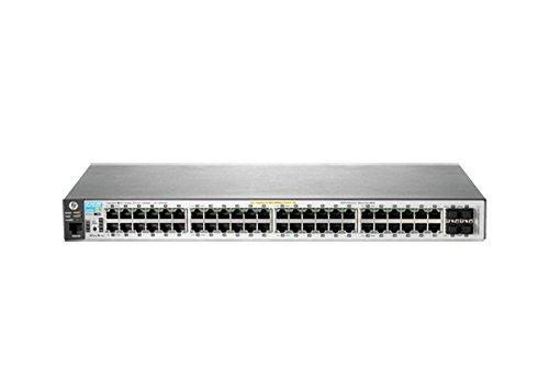 HP Aruba 2530-48G-PoE+ Switch 48x 10/100/1000 PoE+ 4x Gigabit SFP J9772A