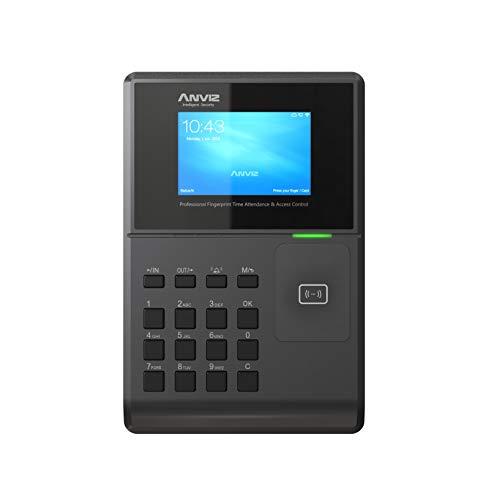 Anviz OC580 rilevazione presenze e controllo accessi : card rfid e PIN, sistema operativo Linux, HD 3,2', tcp/ip PoE, Wi-fi, pendrive Anviz inclusa.