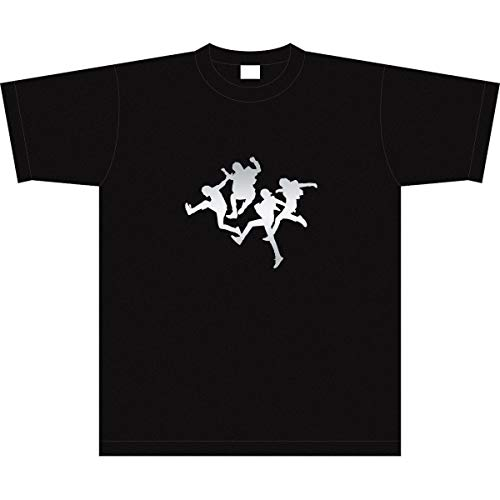 Tシャツ 【Mサイズ】 ミスチル 黒×銀 025S