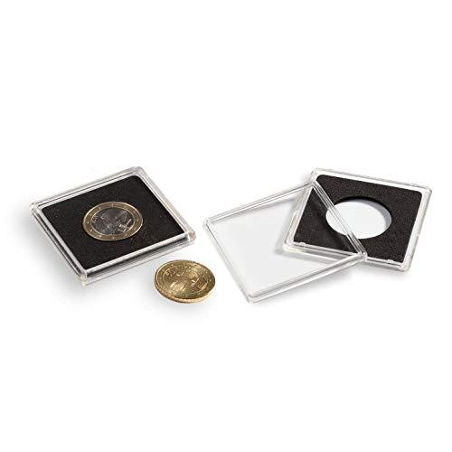 Leuchtturm 327634 cápsulas de Monedas QUADRUM diámetro Interior 33 mm