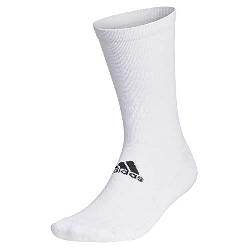 adidas Golf Mens Basic Crew Socks - White - UK 8.5-11