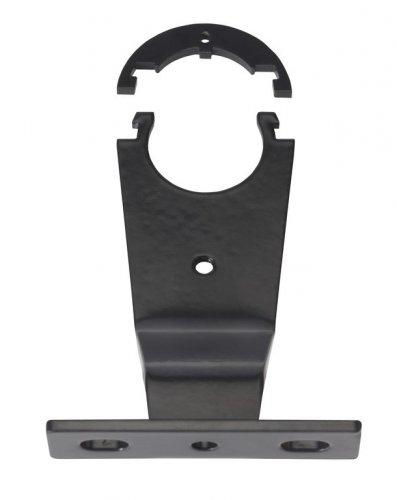 Stuurkophouder 1 inch zwart