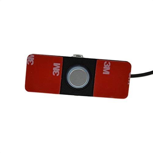 Buy Silver : 13mm Flat Sensor Car Video Parking Sensor Reverse Backup Radar Auto Reversing Detector ...
