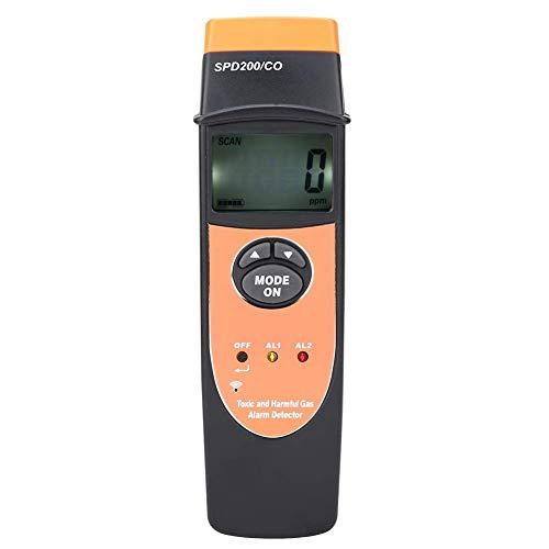 Hyy-yy. Kohlenmonoxid-Gas-Detektor, SPD200 Digitalanzeige CO Kohlenmonoxid-Detektor-Meter Prüfvorrichtung-Lecksucher