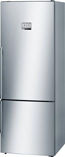 Bosch KGF56PI40 Serie 8 Freistehende XXL-Kühl-Gefrier-Kombination / A+++ / 193 x 70 cm / 216 kWh/Jahr / Inox-antifingerprint / 375 L Kühlteil / 105 L Gefrierteil / NoFrost / Home Connect fähig