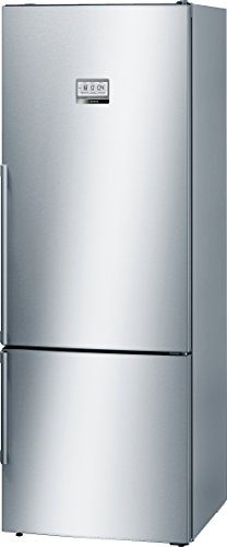Bosch serie 8 - Frigorifico combinado kgf56pi40 puerta acero