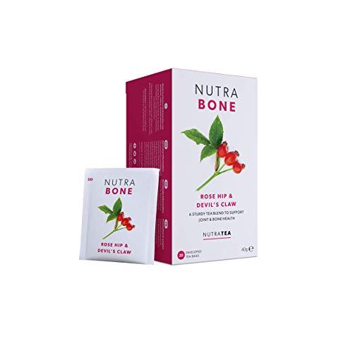 NutraBone - Tee für Knochengesundheit – 20 Verpackte Teebeutel - von Nutra Tea – Kräutertee