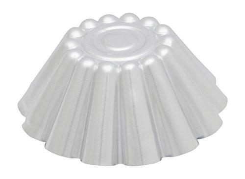 Italo 1165020 Ottinetti Moule Conique Aluminium Métallisé 20 cm