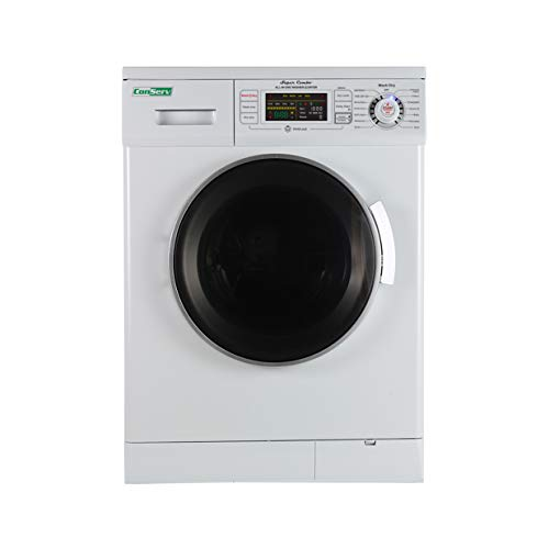 24' Compact Combo Washer Dryer White Winterize...