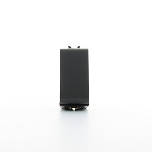 Gewiss gw12001 Black 1 Push-Button Panel – Push-Button Panels (Black, 16 A)