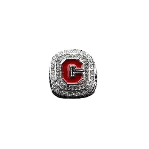 GOSUCPO Campeón de la NCAA Anillo de aleación 2016 Clemson Tigers Coleccionables Recuerdos Joyas para Hombres y Mujeres Regalo/A / 11