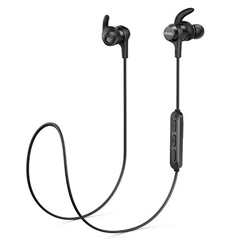 Anker Bluetooth Kopfhörer SoundBuds Flow in Ear magnetisches Headset, mit Wasserschutzklasse IPX5/7-Stunden-Spielzeit/Mikrofon, federleicht (Generalüberholt)