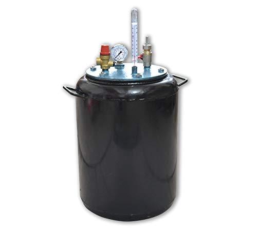 Utech Autoklav Haushalt - entwickelt für die Konservierung von Haushaltsprodukten (24 Gläser 0,5 Liter oder 14 Gläser 1 Liter)