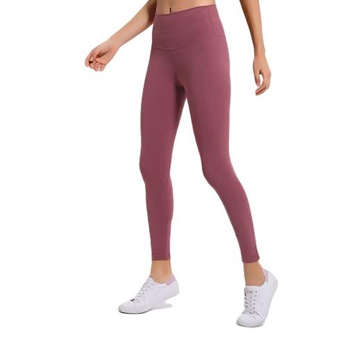 QTJY Pantalones de Yoga Ajustados con Cintura Alta para Mujer, Pantalones Sexis y Suaves para Correr, Pantalones de Entrenamiento para Celulitis, Pantalones de chándal H XL