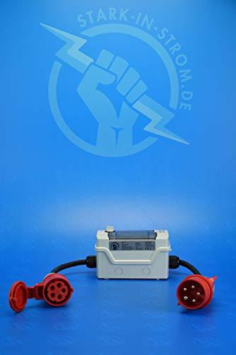 Adapterleitung, 32-16A / 32a-16a Adapter, CEE Adapter, Sicherheitsadapter mit Sicherung - 3