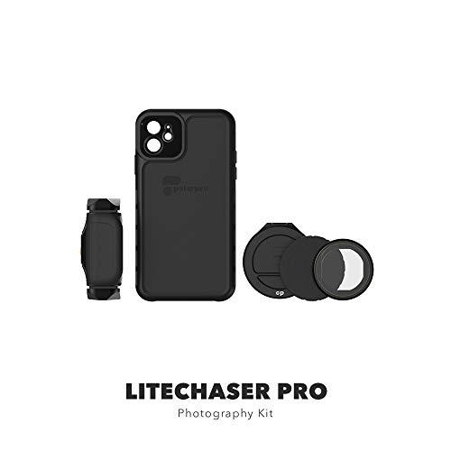 PolarPro LiteChaser Pro Photography Kit für iPhone 11 Pro Max Schutzhülle + Griff + Polfilter IPHN11-PRO-MAX-PHTO