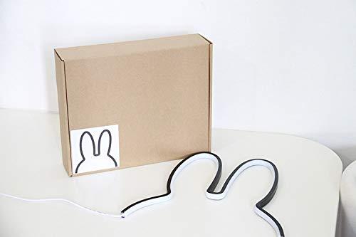 Flottant Row Lovely Lapin Endoscope Veilleuse Bébé Chambre Décoration LED Lampe Décorative Smart Creative Lumières