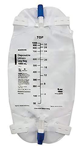 McKesson Urinary Leg Bag  4601EA  500 mL 1 Each / Each
