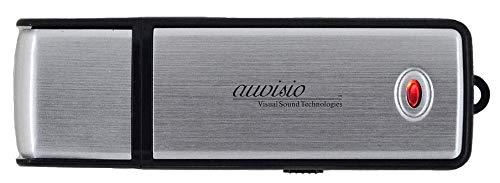 auvisio USB Stick Audio Recorder: Voice Recorder & USB-Stick, geräuschaktivierte Aufnahme, 70 Std, 8 GB (USB Stick mit Aufnahmefunktion)