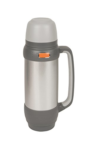 Camp-Gear - Bouteille isotherme - 1 litre - Acier inoxydable