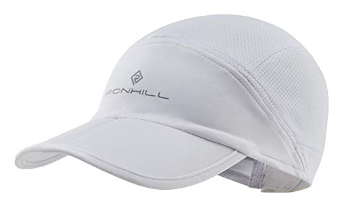 Ronhill Split Air-Lite - Berretto Unisex, Unisex - Adulto, Coperchio, RH-004781, Bianco Brillante, S/M