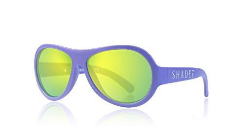 SHADEZ Trendy Sonnenbrille, Unisex, Kinder, Violett