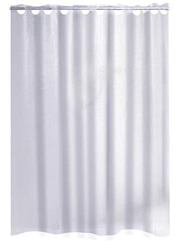 Ridder Duschvorhang Folie Crashed Ice transparent 180x200 cm