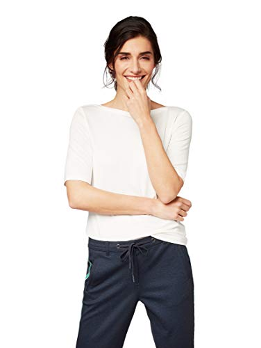 TOM TAILOR Damen T-Shirts/Tops T-Shirts/Tops Whisper White,XXL,10315,2000