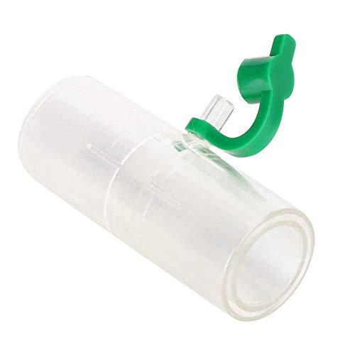 Top-element Atemschlauchschlauchanschluss Kunststoff Haltbarer Adapter für geraden geraden Anschluss für Philips Respironics V60