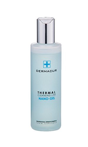 Professional Thermal Nano Gel for Cleansing the Skin with Active Substances from Aloe Vera, Cucumber and Salt Minerals, without Soap 200 ml/Profesional Gel Nano termal 200ml Checa