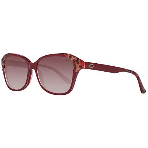Guess Sonnenbrille Gu7510 66F-55-15-140 Gafas de sol, Rojo (Rot), 55.0 para Mujer